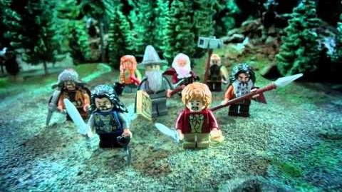 The Hobbit - An Unexpected Journey & Attack Wargs - Lego Games!