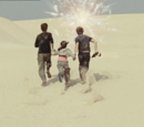 Silurian desert - Lost World Adventure Park Anomaly