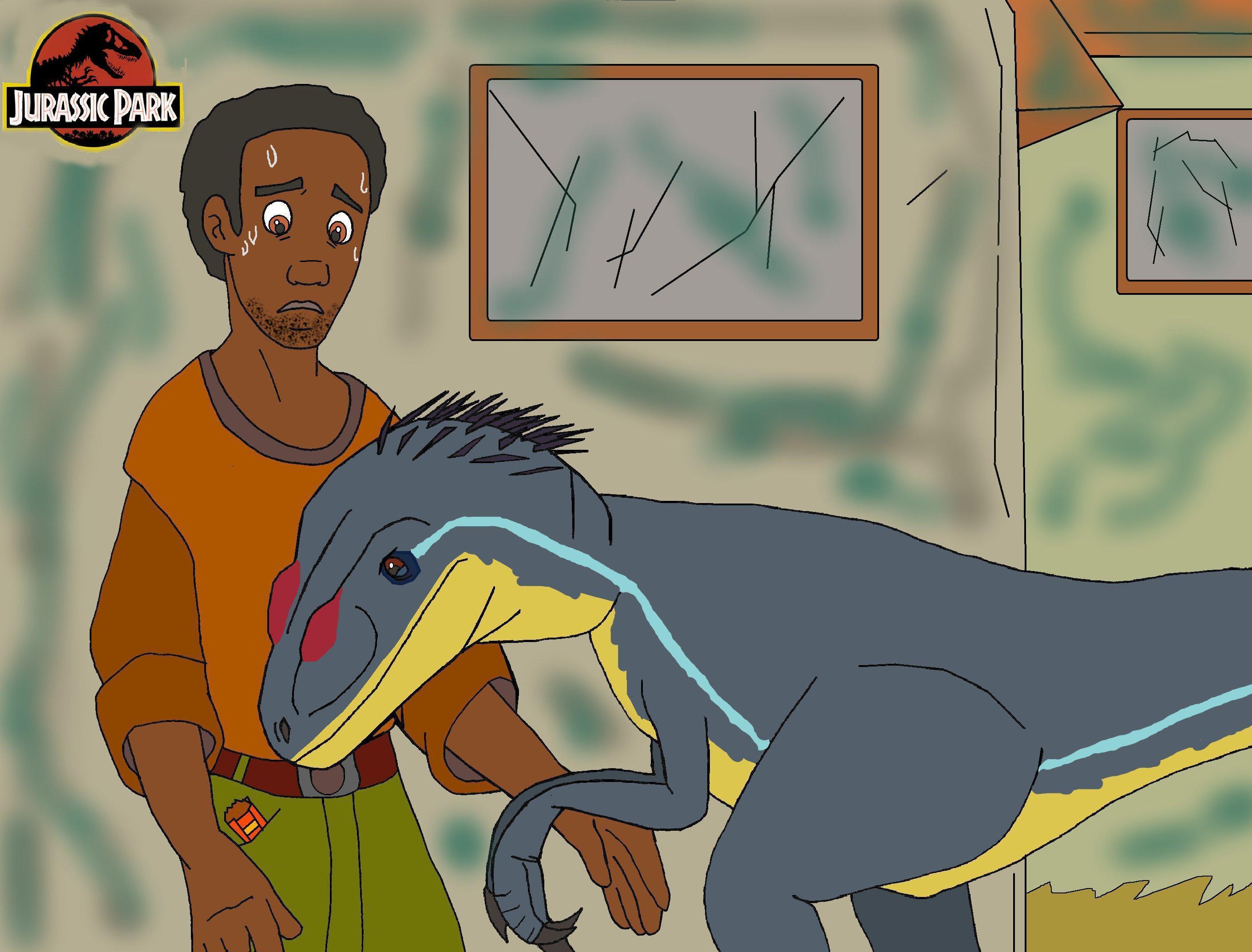 Image - Jurassic park Raptor talk (2).jpg - Jurassic Park ...