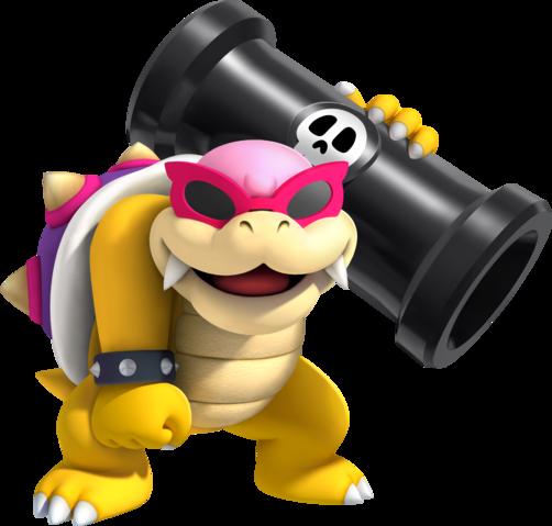 Guía New Super Mario Bros U Roy_Koopa_en_NSMB._U