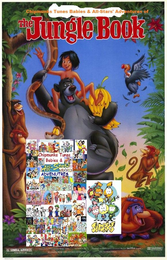 chipmunks tunes babies amp allstars of the jungle book