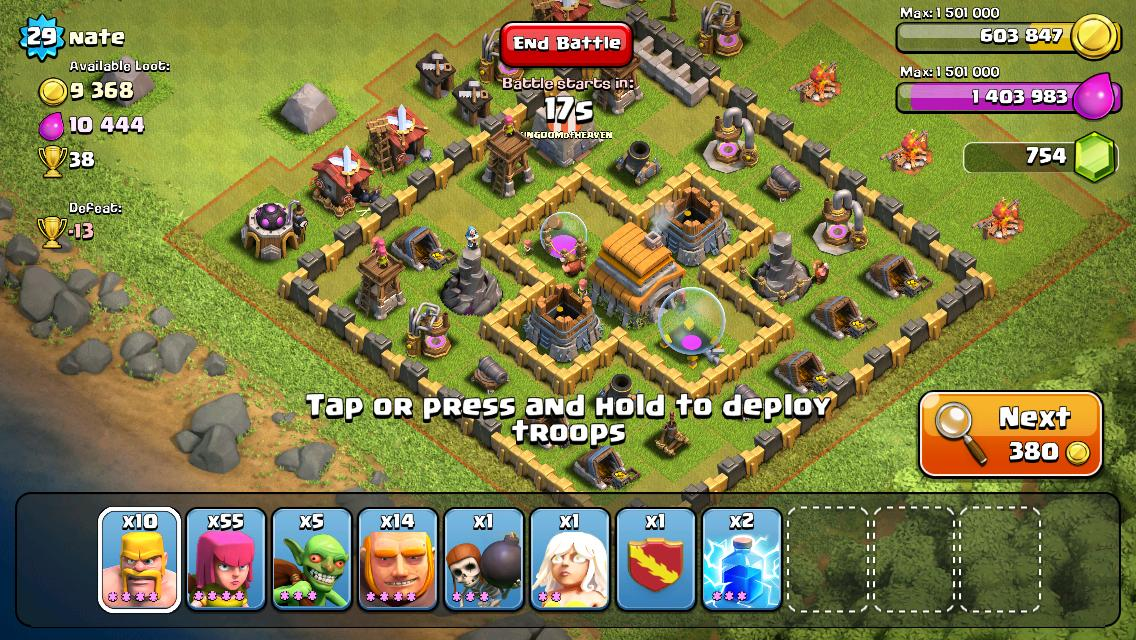 Clash of clans strategy overview novice.