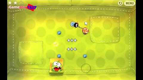 Cut the Rope  2 Chapter Fabric Box 3 Stars  Guide Walkthrough