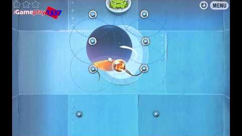 Cut the Rope  8 Chapter Cosmic Box 3 Stars  Guide Walkthrough