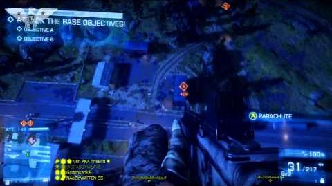 BF3 - AC130 Patch Date - Armored Kill Gameplay - (Battlefield 3)