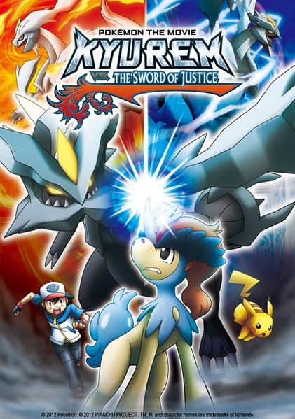 Pokemon movie kyurem vs the sword of justice youtube.