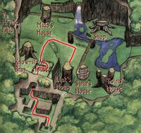 Mapa Espada Kokiri OoT