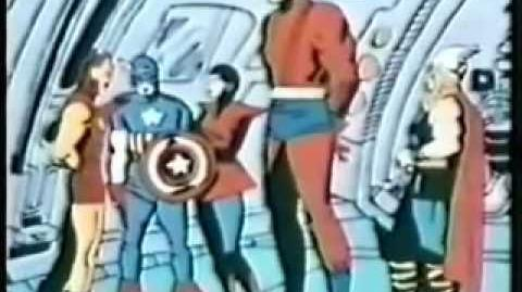 Captain America Joins The Avengers - 1968