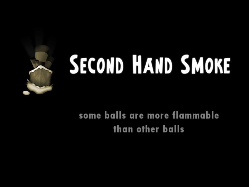 Second hand smoke essays