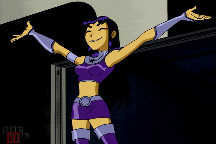 Not the Teen titans starfire black fire what