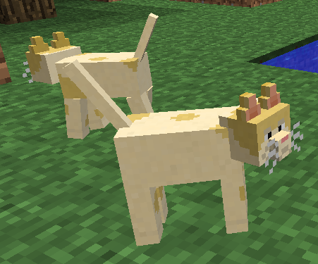 how to give animals health in minecraft