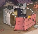 Gravity Falls vehicles