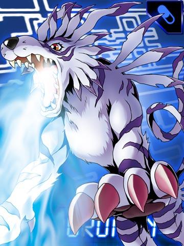 Imagen - Garurumon collectors card.jpg - Digimon Wiki - Wikia