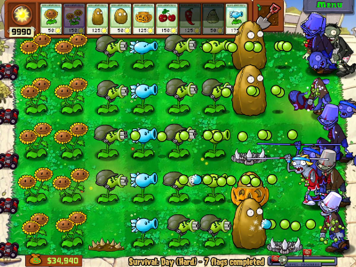 Plant VS Zombies 2 Game - Play online at