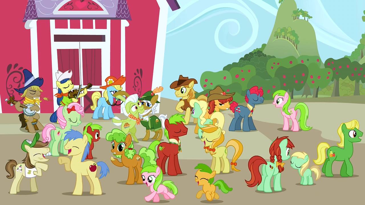My Little Pony Apple Family Tree