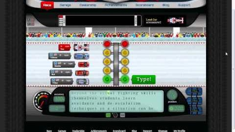 199 wpm race on NitroType