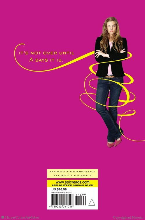 Pretty Little Liars Book Cover : Pll book quotes quotesgram