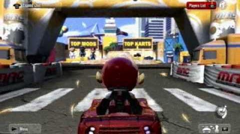 ModNation Racers Beta Playthrough - Part 1 Introduction & Customisation