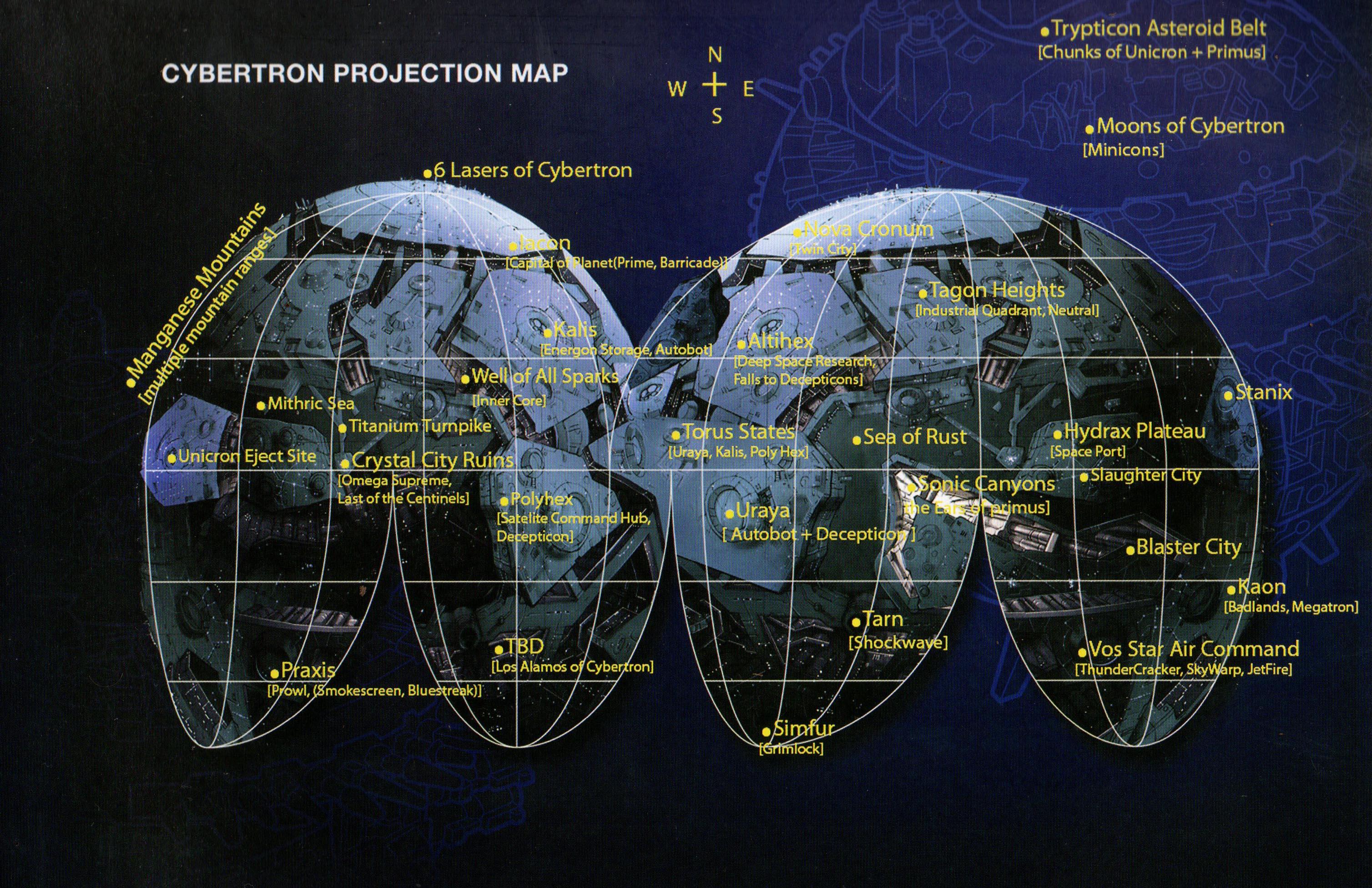 Cybertron Transformers Universe Mux
