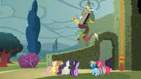Discord 'Good luck, everypony' S2E01