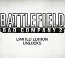 Battlefield: Bad Company 2 Limited Edition Unlocks Trailer