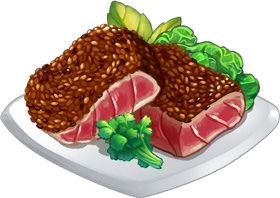 Recipe-Seared Tuna Salad