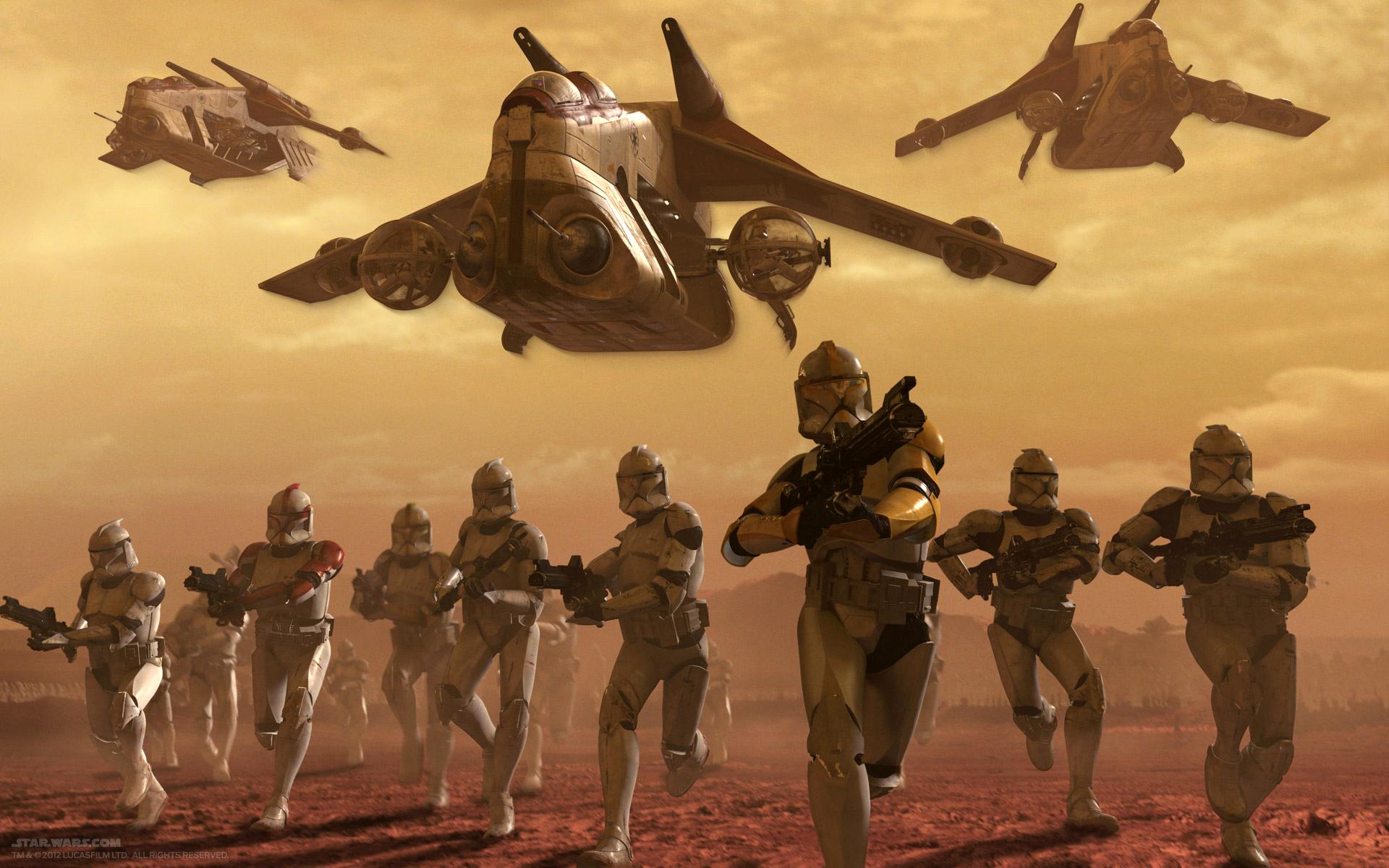 Star Wars Clone Wars Republic Gunship Clone Wars Republic Assault