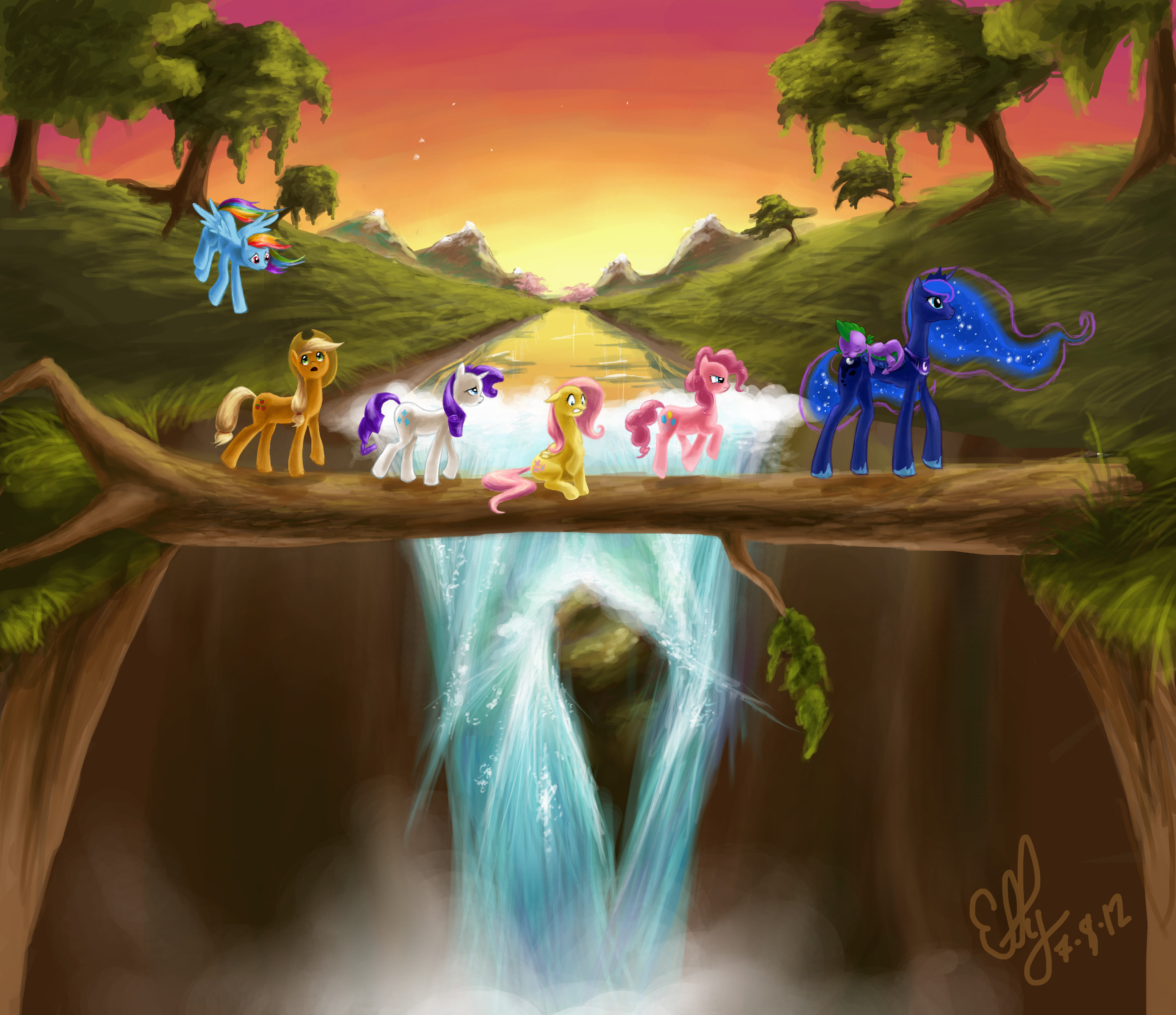 journey of the spark my little pony fan labor wiki