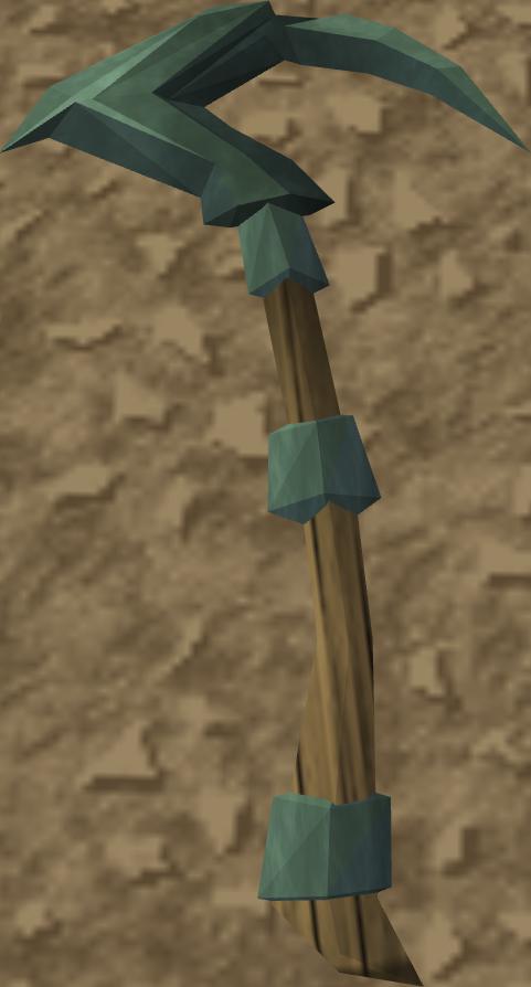 Adamant pickaxe - The RuneScape Wiki