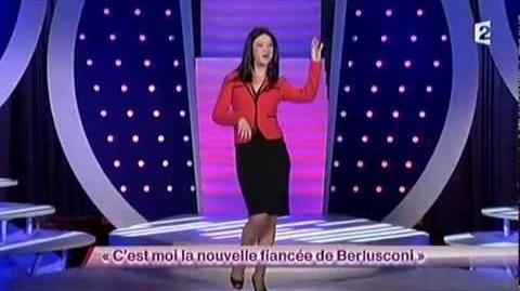 C'est moi la nouvelle fiancé de Berlusconi