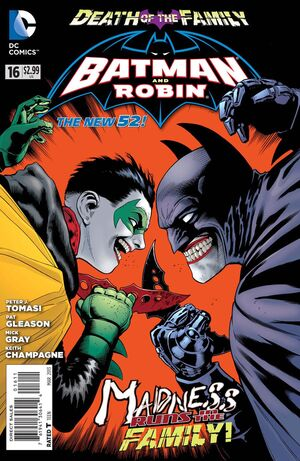 Cover for Batman and Robin #16 (2013)