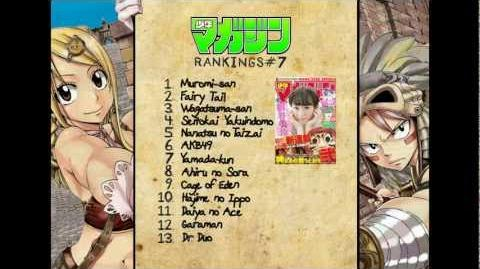 Weekly Shonen Magazine Pure Rankings Vol 7