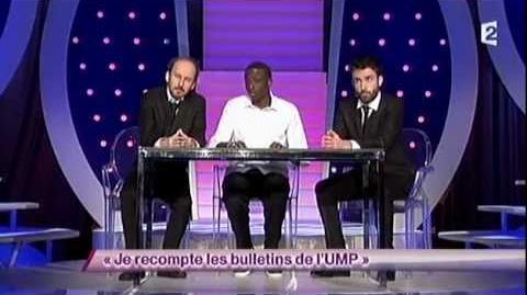 Je recompte les bulletins de l'UMP