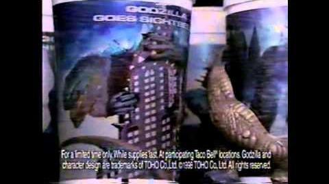 GODZILLA (1998) - Taco Bell Commercial 4