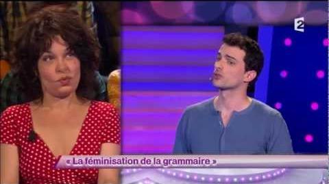 La féminisation de la grammaire