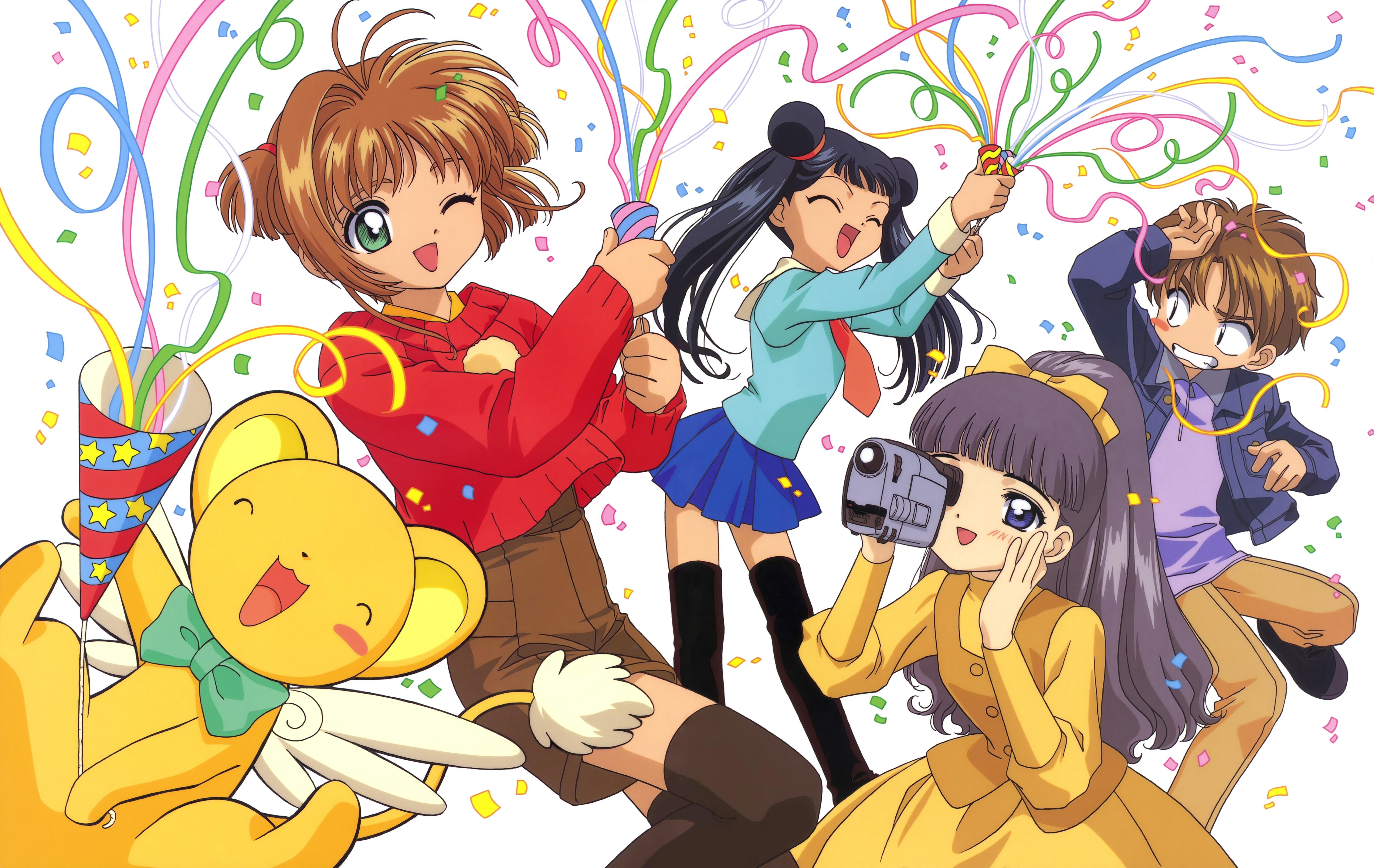 Manga Sakura Cardcaptor Set 4 # 02,03,04,10 Envio