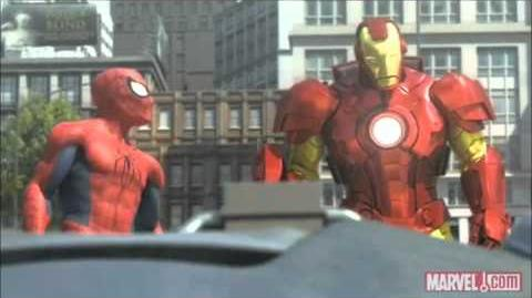 Spider-Man, Iron Man and the Hulk (Full and HQ)