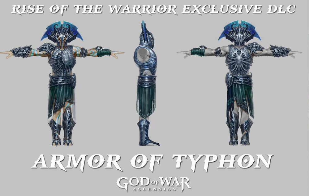 Armor of Typhon - God of War Wiki - Ascension, Ghost of ...