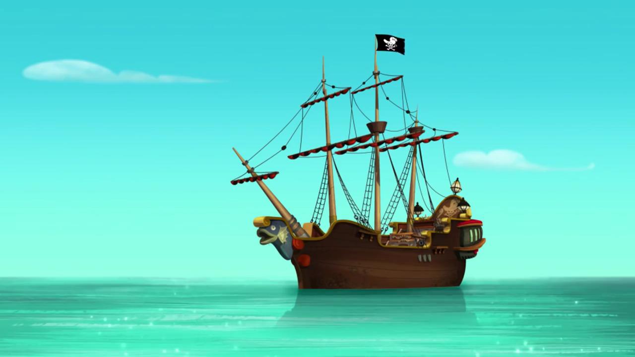 Jake And The Neverland Pirates Ship Sail Jake And The Neverland Pirates