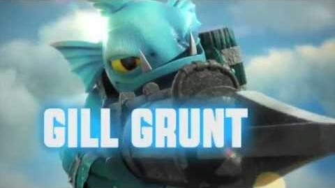 Meet the Skylanders - Series 2 Gill Grunt-0