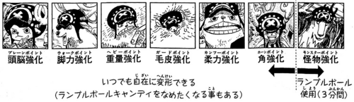 SBS Volume 66 Chopper's Post-Timeskip Transformations