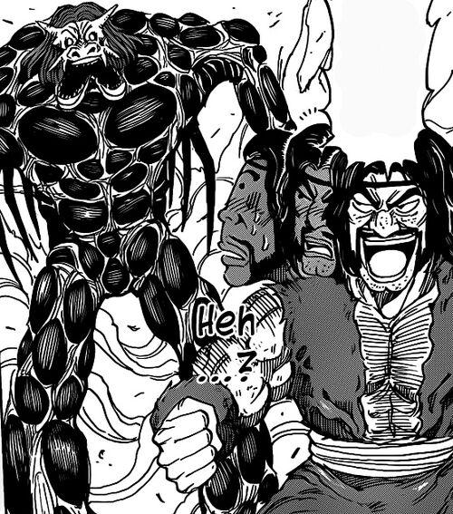 Toriko Angry At Starjun Jpg: Zonge Surprised By A Beast.jpg