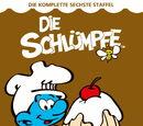 Die Schlumpfe: Die Komplette Sechste Staffel (German DVD release)