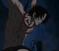 Ace Held Prisoned Inside Impel Down
