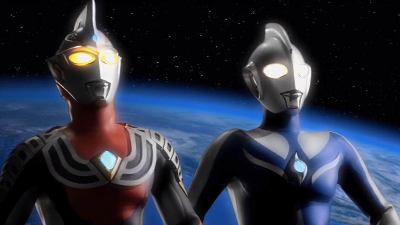 Ultraman Cosmos vs Ultraman Justice  The Final Battle  2003 Ultraman Justice