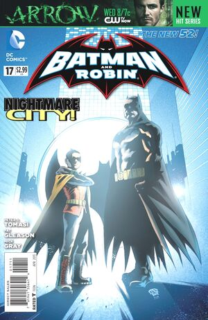 Cover for Batman and Robin #17 (2013)