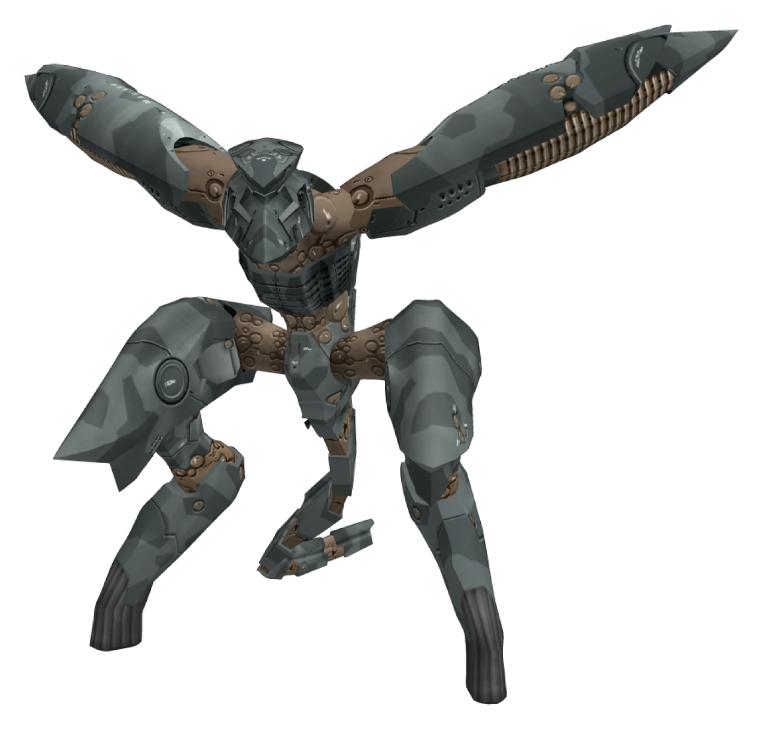 Gear Ray of Metal Gear Ray