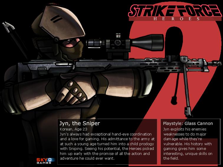 Jyn the sniper strike force heroes 2 wiki