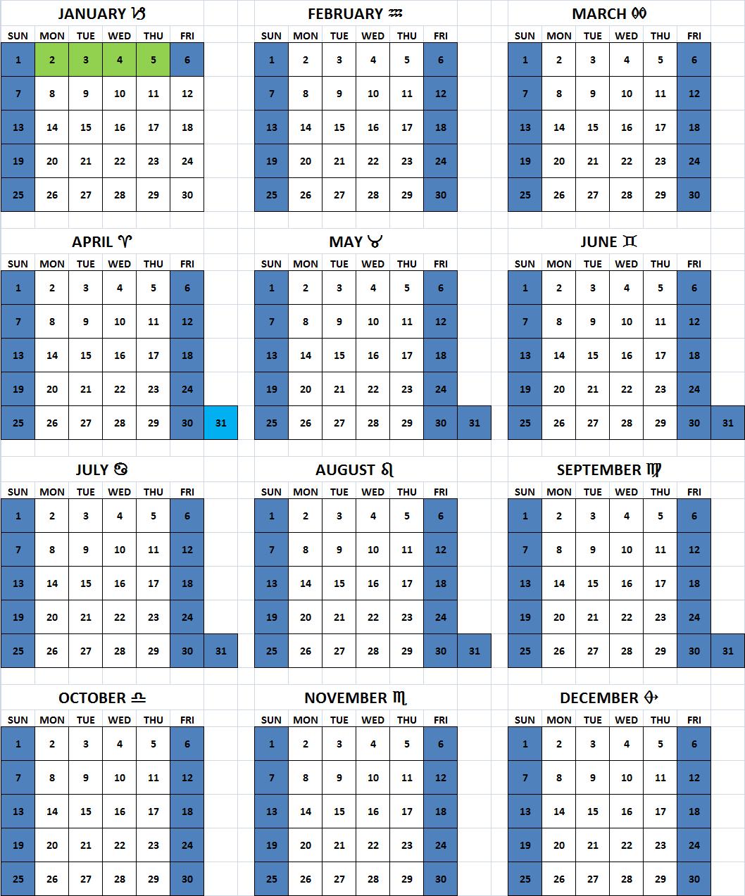 2016 Julian Calendar Quadax | Calendar Template 2016