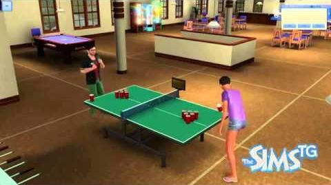 University Life - Juice Pong